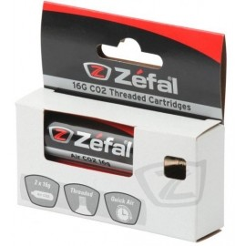 Zefal CARTRIDGE 16G THREAD 2PCS